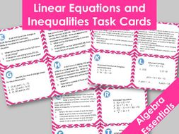 problem solving in linear equation