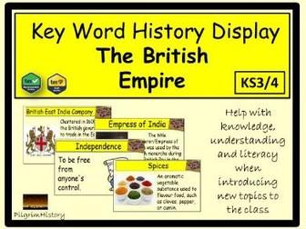 British Empire Display