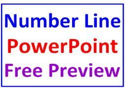 Number Line FREE PowerPoint PREVIEW