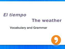 El Tiempo - The Weather - Video Tutorial