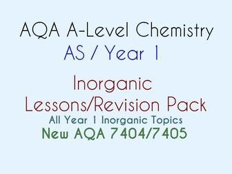 AQA AS Inorganic Chemistry BUNDLE