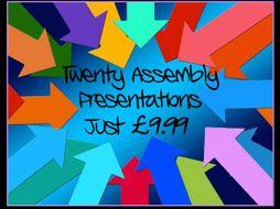Assemblies - 20 Presentations!