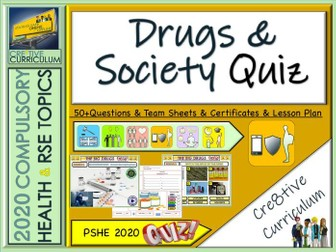 End of Year Drugs Quiz