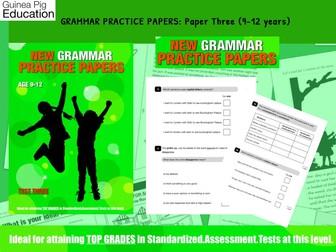 Practise SATS SPAG Grammar Tests (Pack 3) (9-12 years)