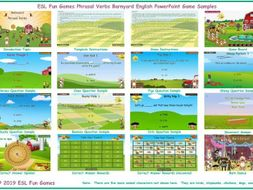 Phrasal Verbs Barnyard English PowerPoint Game