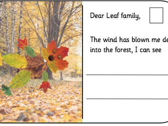 EYFS Leaf Man Writing/Literacy Bundle