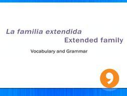 La Familia Extendida - Extended Family - Video Tutorial