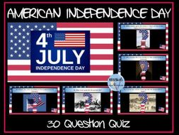 American Independence Day Quiz