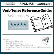 Spanish Past Tenses Booklet | Teaching Resources