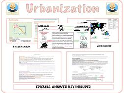 Urbanisation by TheGeographyOasis | Teaching Resources