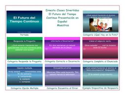 future continuous tense spanish powerpoint presentations by