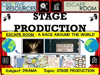 Stage Production Drama Escape Room