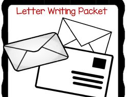 Letter Writing Unit for Primary Grades
