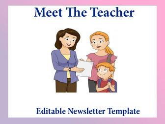 editable newsletters templates volume 3 by kitcelcorner teaching