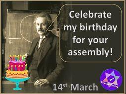 Albert Einstein's Birthday Assembly