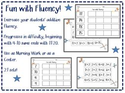 Addition Practice for Primary Grades