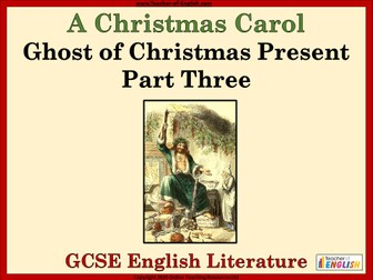 A Christmas Carol - Ghost of Christmas Present Part 3