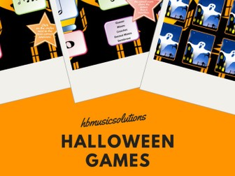 Halloween Interactive Music Games