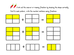 Year 3 adding fractions by lrwhaxby | Teaching Resources