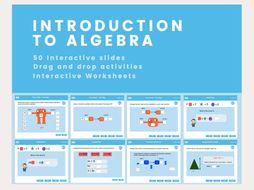 Introduction to Algebra - key stage 2- Year 6