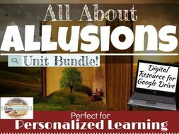 Allusions In Literature Unit Bundle Allusion Lessons By