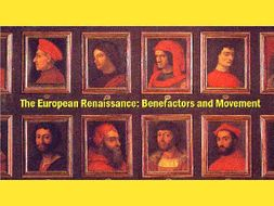 The European Renaissance: Lesson Bundle