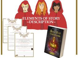 Elements of Story - Description - To accompany the novel, Miist by Kamilla Reid