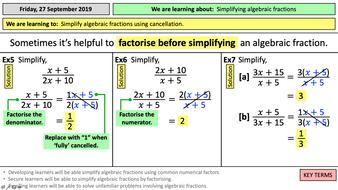 7.1f-Simplifying-algebraic-fractions.pptx