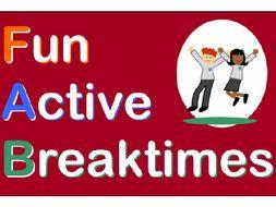 Playground games - Fun Active Breaktimes