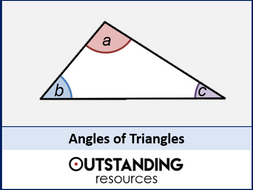 Angle Rules 3 - Angles of Triangles (+ worksheet)