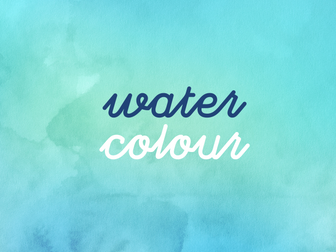 Revision Resource Collection I Water Colour