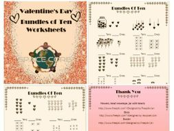 Valentine Day Bundle of Ten