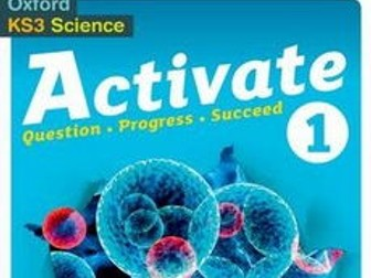 KS3 Activate Science 1 Space Topic