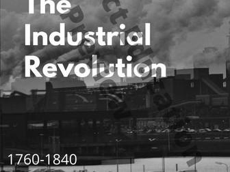 Industrial Revolution History Poster