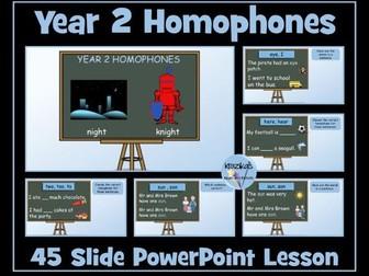 Year 2 Homophones