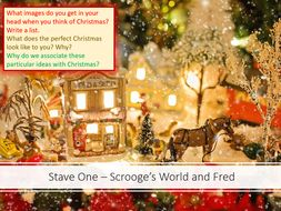 a christmas carol stave 1 fred and scrooge - Fred Christmas