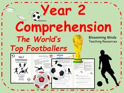 Year 2 Footballers Reading Comprehension