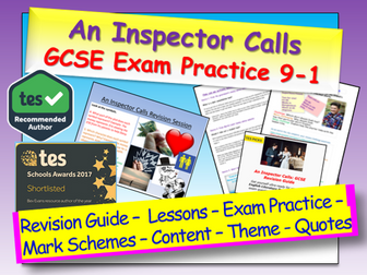 An Inspector Calls GCSE 9-1 Exam Practice / Revision