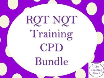 NQT RQT New Teacher - CPD Training Professional Development Bundle