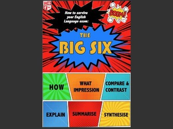Miss Sillman's WJEC New Spec English Language Reading Revision Guide