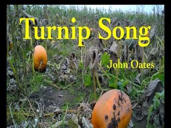 Turnip Song (Vocal MP3, Backing MP3 & PDF Score) John Oates
