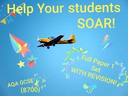 AQA 8700/1 English Language Paper 1 Full Coverage & Revision