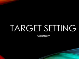 Target Setting Assembly