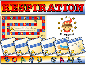 Respiration - 42 Question Board Game KS3