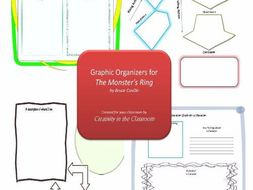 Graphic Organizers Plus Crossword Puzzles  for The Monster's Ring