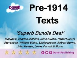 Pre-1914 prose, poetry and drama