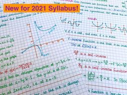 IB Maths AA HL - Topic 2 Functions Notes