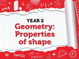 Year 2 - Properties of Shape - Spring - Week 7