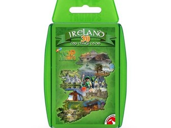 30 Things To Do In Ireland Official Top Trumps - Full Deck