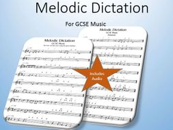 Melodic Dictation (includes audio)